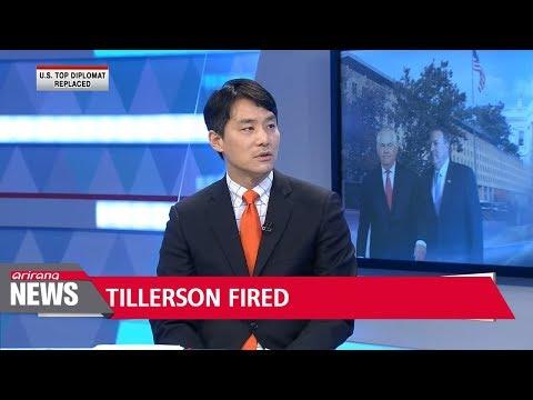 Trump dismisses U.S. Secretary of State Rex Tillerson