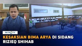 Kesaksian Bima Arya di Sidang Rizieq Shihab