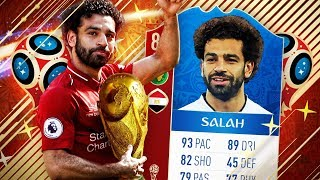 CAN SALAH WIN EGYPT THE WORLD CUP TROPHY? - FIFA 18 WORLD CUP SPRINT TO GLORY!