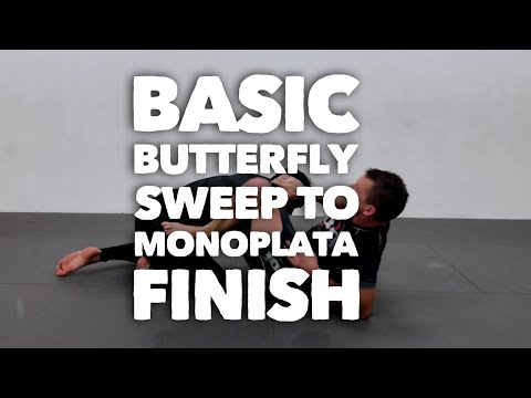 Monoplata finish when the butterfly sweep fails - Friday Night Nogi w/ Budo Jake