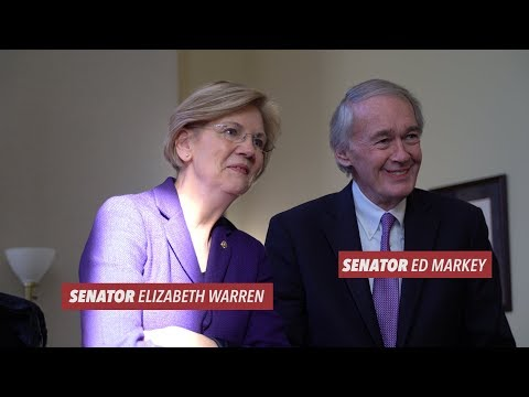 Elizabeth Warren & Ed Markey: Get Covered for 2018