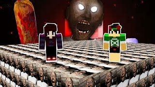 DESAFIO LUCKY BLOCK DA GRANNY NO MINECRAFT !!