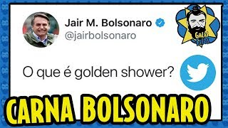 BOLSONARO no CARNAVAL: golden shower, vídeo obsceno e lei Rouanet | Galãs Feios