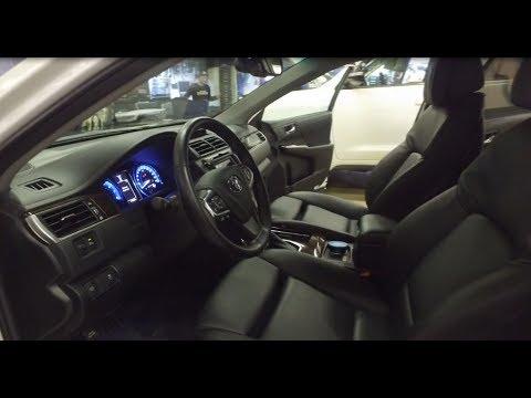Toyota Camry и комфортные сиденья BMW + саб в Land Cruiser 200