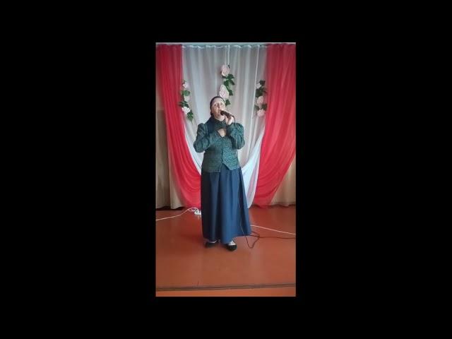 Анна Бехер из села Ефремкино Ширинского района