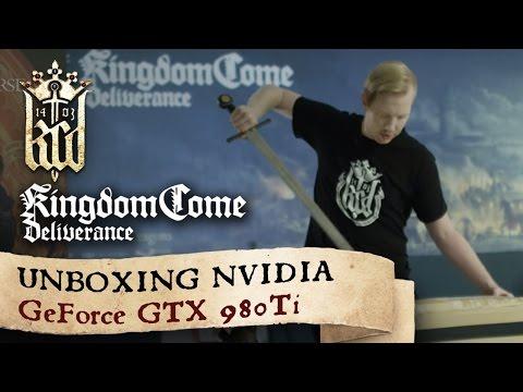 Warhorse Studios – Unboxing NVIDIA GeForce GTX 980 Ti