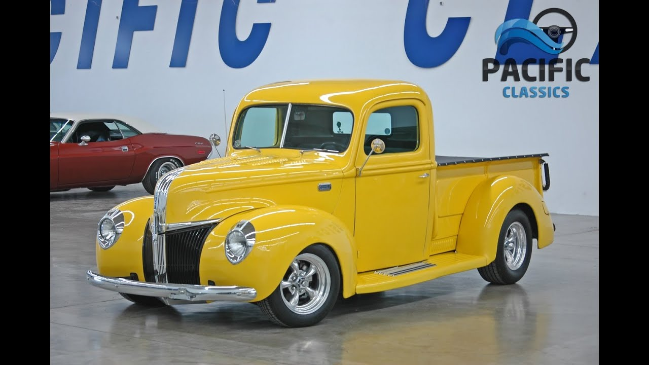 1941 Ford Pickup Youtube Truck