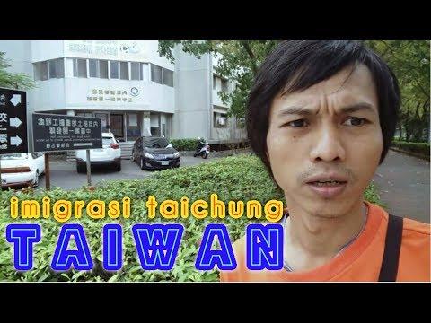 TEMPAT TKI KABURAN TAIWAN MENYERAHKAN DIRI DI TAICHUNG TAIWAN
