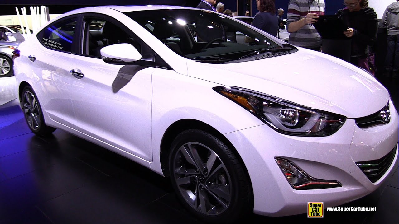 2015 Hyundai Elantra Limited   Exterior And Interior Walkaround   2015  Montreal Auto Show   YouTube