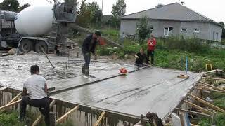 виброрейка своими руками. Виброрейка для бетонной плиты