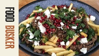 Middle Eastern Poutine for Canada Day | Food Busker