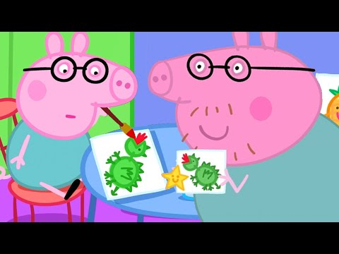 Peppa Pig Official Channel 🌟 Baby Daddy Pig, the Playgroup Star