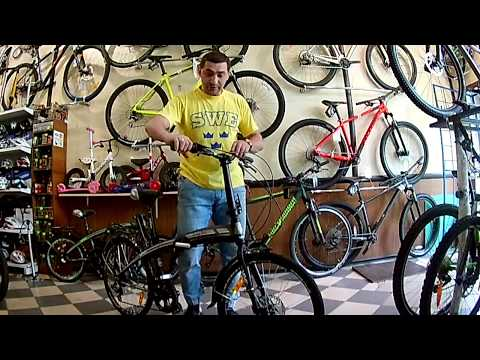 Видео обзор складного велосипеда VNC Longway 24 от магазина VeloViva