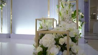 Стильное современное оформление свадьбы 2018