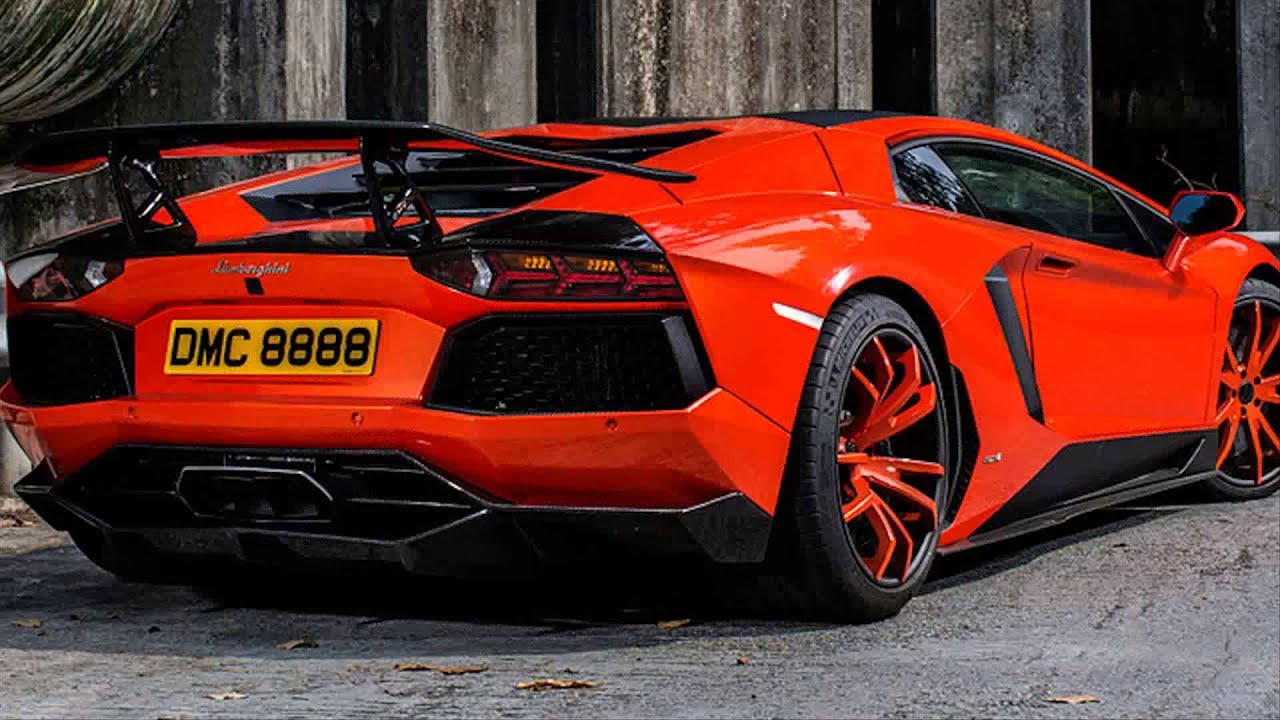 Charming 2015 Model New Lamborghini Aventador Roadster