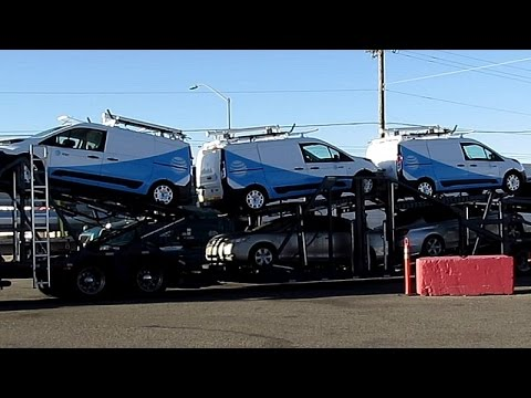 AT&T Natural Gas Powered Vans in Transport ~ Trucking