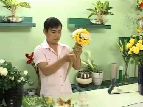 Ket hoa cuoi dang que kem
