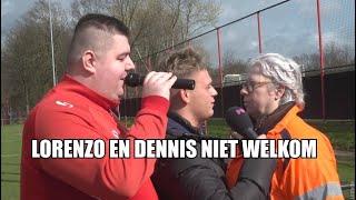Dennis en zanger Lorenzo weggestuurd bij FC Twente