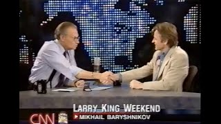 Mikhail Baryshnikov Interview on Larry King Weekend, May 2002