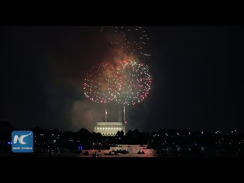 July 4th Fireworks Light Up Washington D.C. 1080p HD