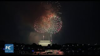 July 4th Fireworks Light Up Washington D.C. 1080p HD