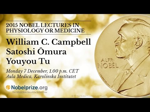 2015 Nobel Lectures in Physiology or Medicine