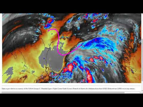 Cristobal Expected to be a Storm Surge and Flooding Threat to the Gulf Coast States