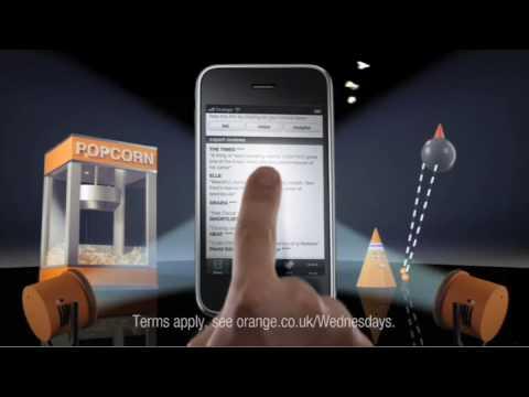 Tv Ads | Orange Wednesdays IPhone App | Orange UK
