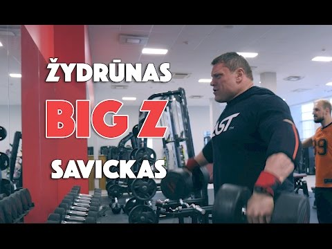 Savickas Big Z Diet | Delts | Biceps | Triceps | ENG subs | 4k