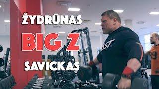 Savickas Big Z Diet   Delts   Biceps   Triceps   ENG subs   4k