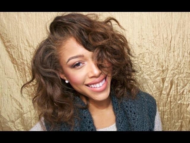 Jaleesa Moses Easy Heatless Curls