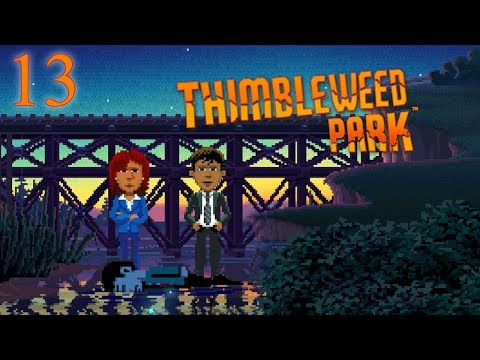 Thimbleweed Park - Point and Click Adventure - E13