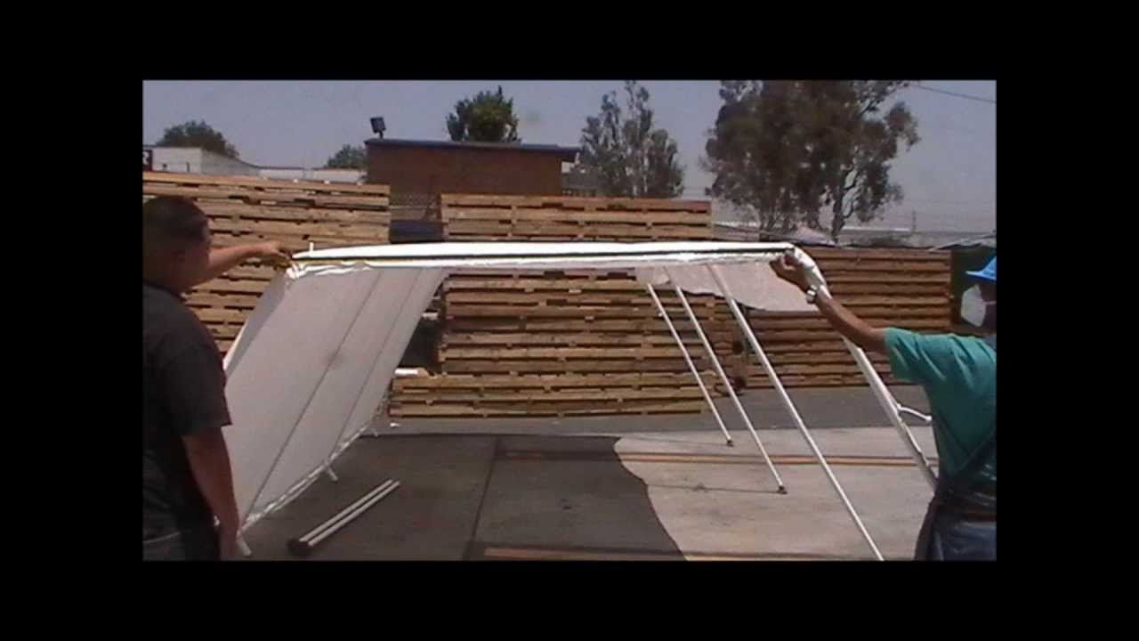How To Measure For A Canopy Replacement Tarp Cover & How To Measure For A Canopy Replacement Tarp Cover - YouTube