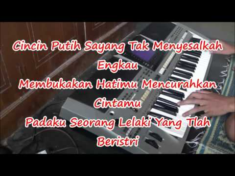 Karaoke Cincin Putih Caca Handika Organ Tunggal tanpa Vokal