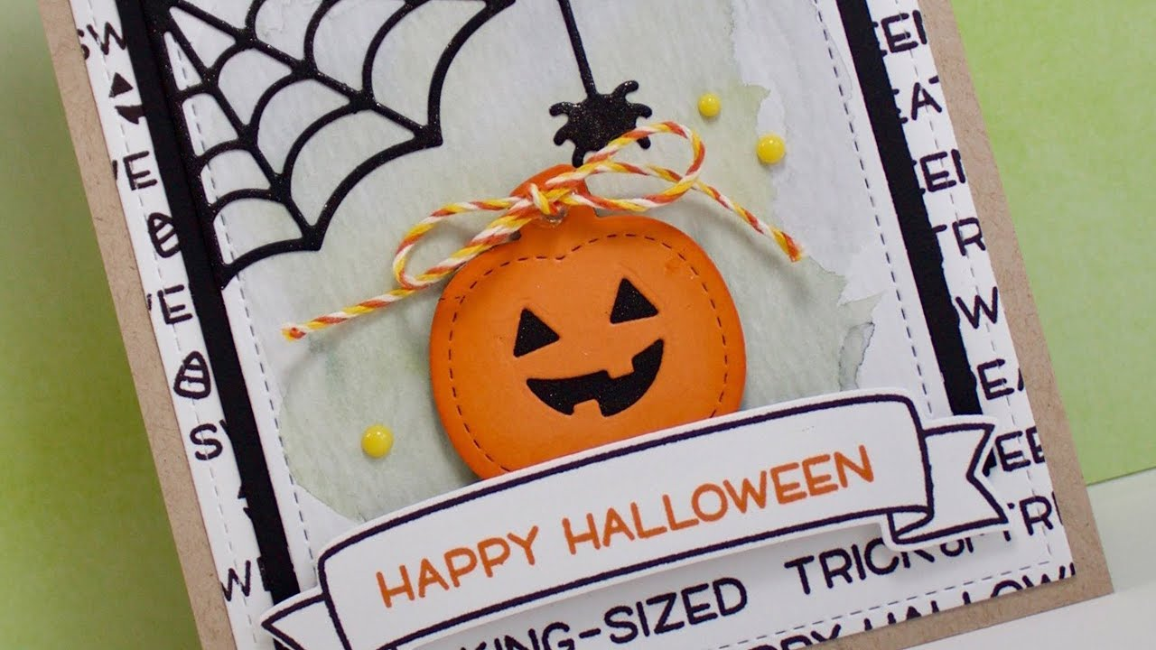 how to make a simple halloween card