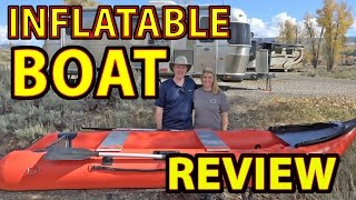 HUGE REVIEW: Scout365 INFLATABLE BOAT for RV Travel (with Setup & Breakdown Tips)