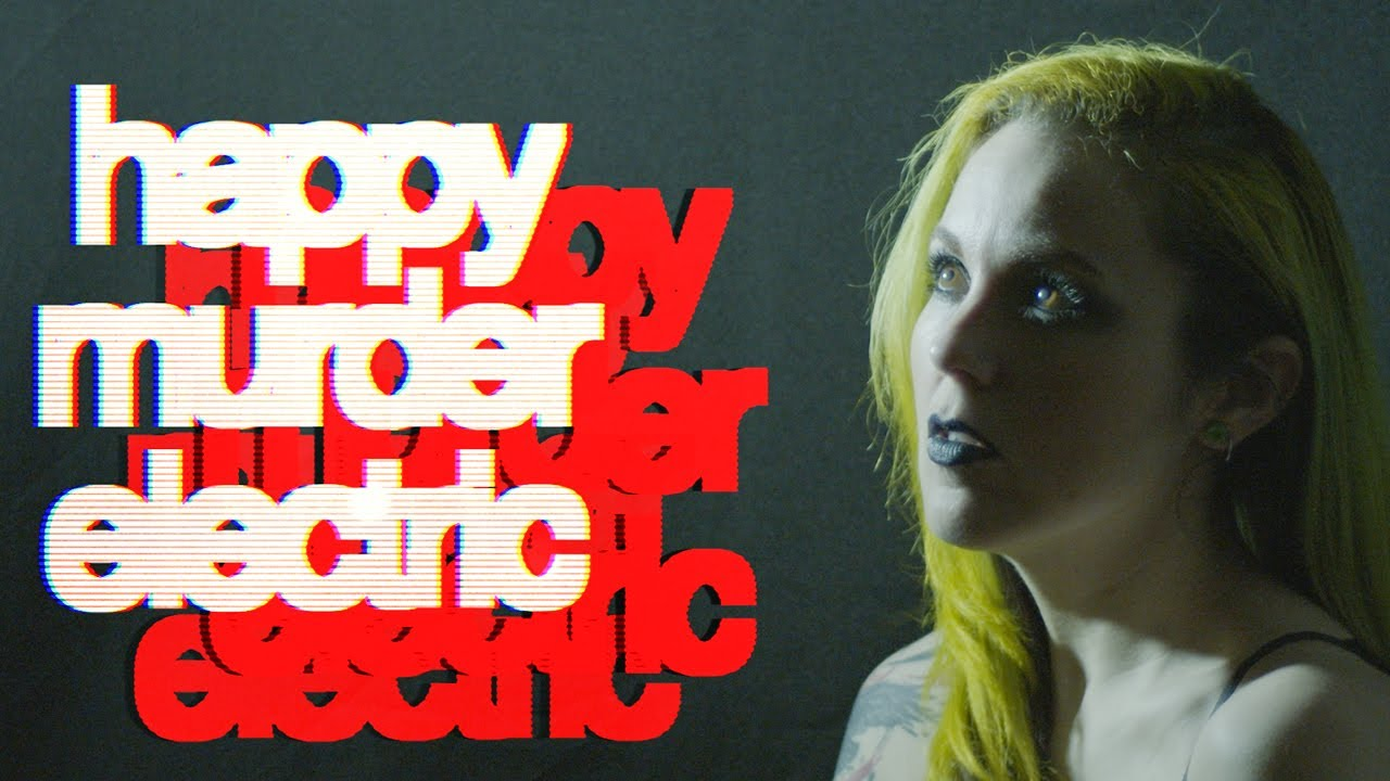 Dancing With Ghosts - Happy Murder Electric (Official EPIC Lyric Video)