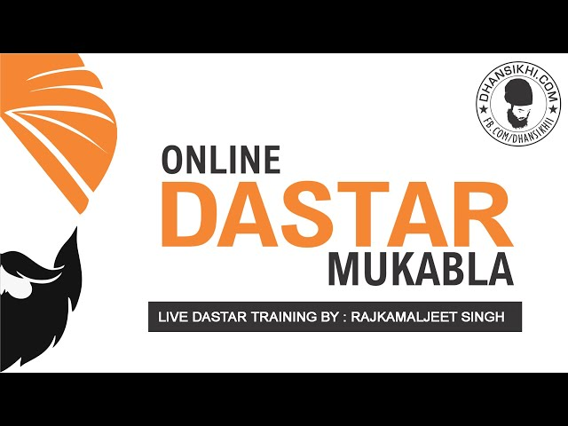 Dastar Coach Raj Kamal  Jeet Singh  Turban Training