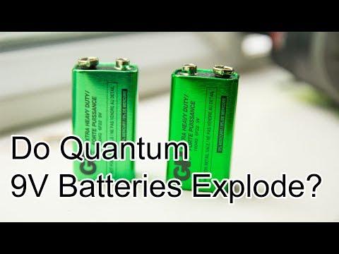 Will Quantum 9V Batteries Explode?