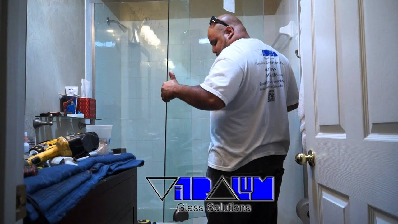 Vitralum Glass Solutions step by step how to install a sliding ...