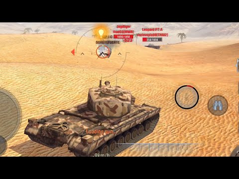 World of Tanks Blitz - T30 gameplay