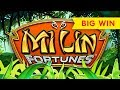Mi Lin Fortunes Slot - BIG WIN BONUS - All Features, NICE!