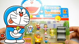 Kawaii Doraemon ドラえもん Figure Set from Thailand - Toys & Games