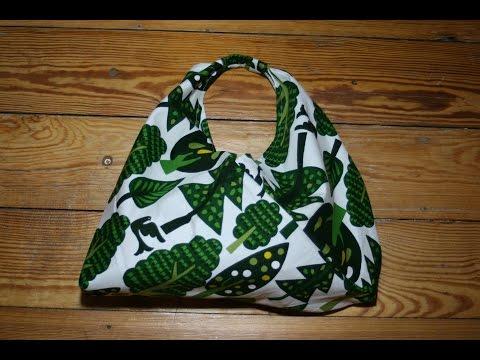 Origami-Bento-Bag nähen