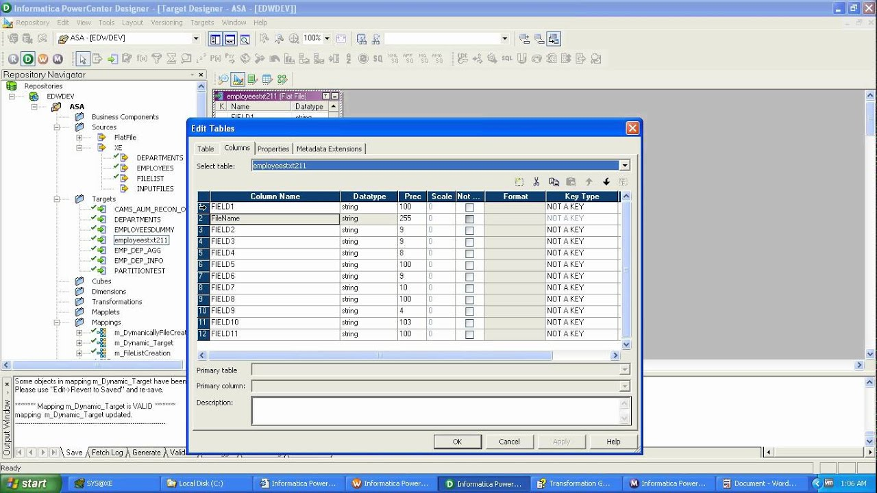 informatica paramter file When you make this change in the parameter file and run the session, the integration service creates a session log file named session_testtxt reusability is a great feature in informatica powercenter which can be used by developers.