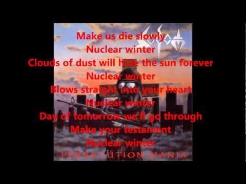 Nuclear Winter Sodom Lyrics