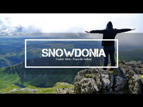 Amazing drone video in Wales : Cadair Idris, Snowdonia