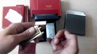 Распаковка и маленький обзор электродуговых зажигалкок TIGER