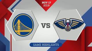 60-Second Recap: New Orleans Pelicans vs. Golden State Warriors