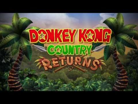 """Trailer - DONKEY KONG COUNTRY RETURNS """"E3 Trailer"""" for Wii"""
